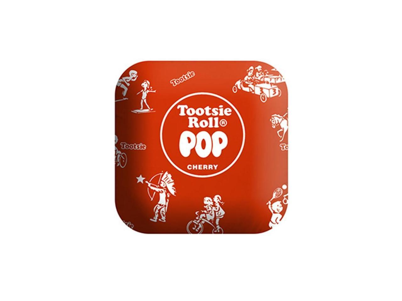 tootsie roll pil tr rwrap 14 in large plush red tootsie roll pop candy pillow