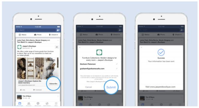 Lead Generation Strategies - Facebook LEad Ads