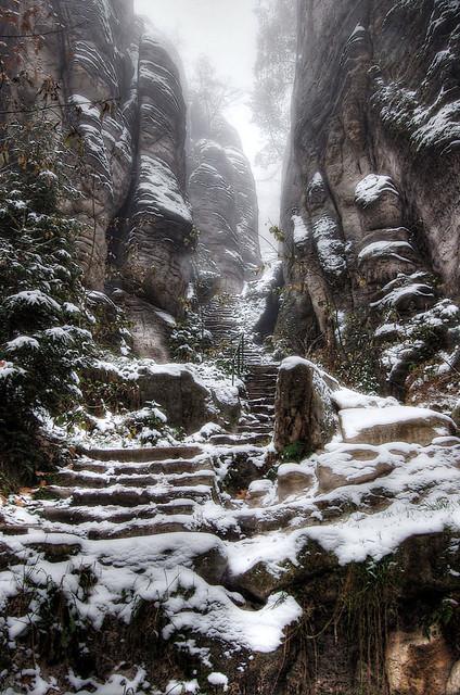 Emperors Corridor Prachov Rocks I Did A Little