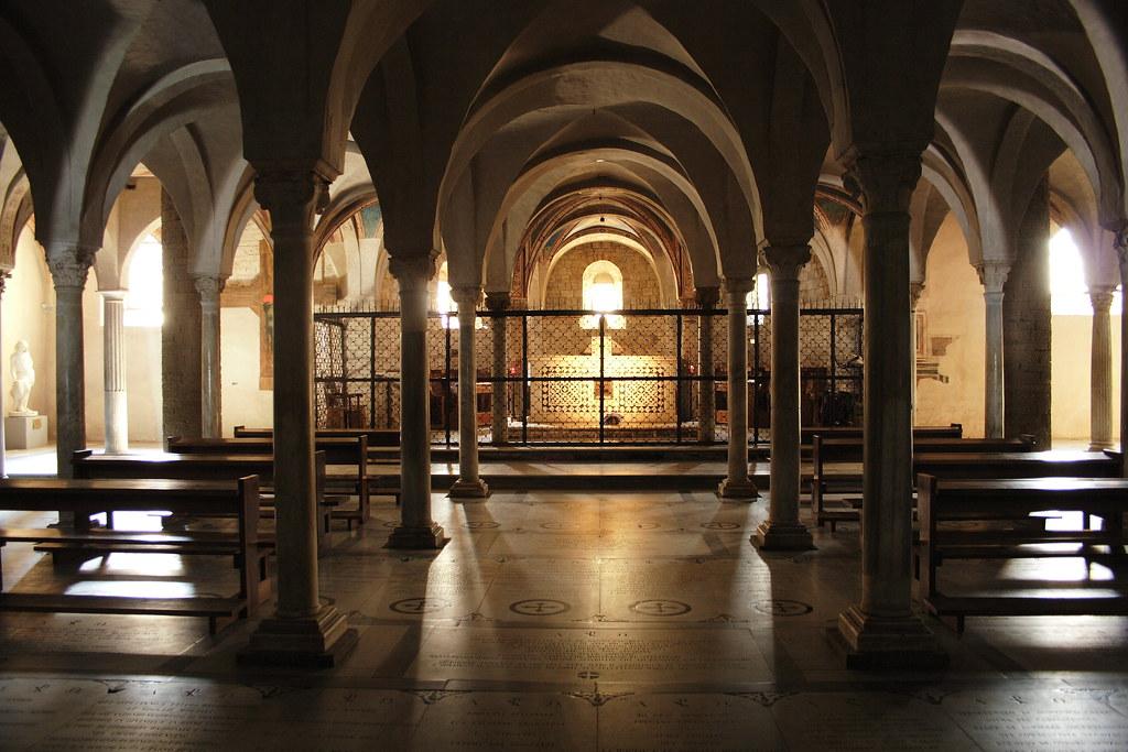 Crypt Of Basilica Di San Miniato Al Monte Firenze Italy