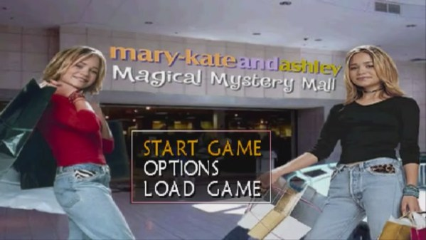 magical mystery mall title screen