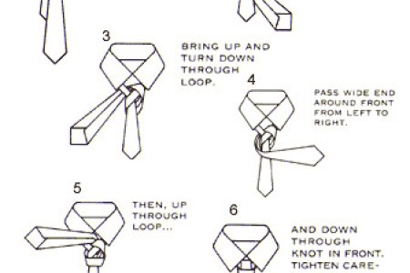 Instructions How To Tie A Windsor Knot How To
