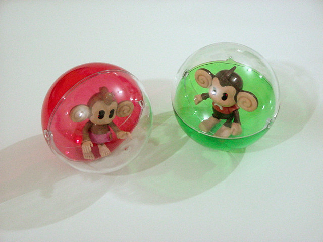 Monkey Ball Aiai And MeeMee Toys Super Monkey Ball Is
