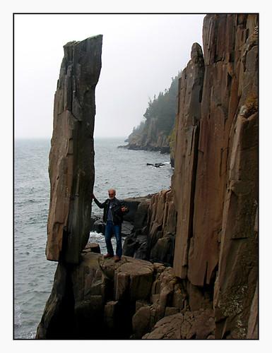 Balancing Rock at Long Island, Digby Neck | We met a very ...