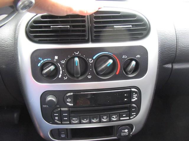 New Car Interior Radio Air Con Heater April