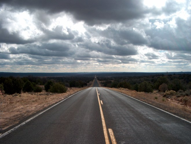 An endless road.