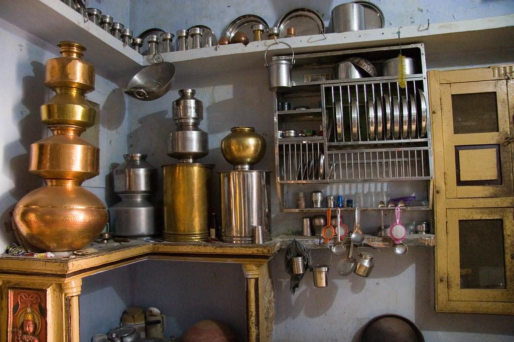 Charada Village Gujarat India Kitchen K Johansen