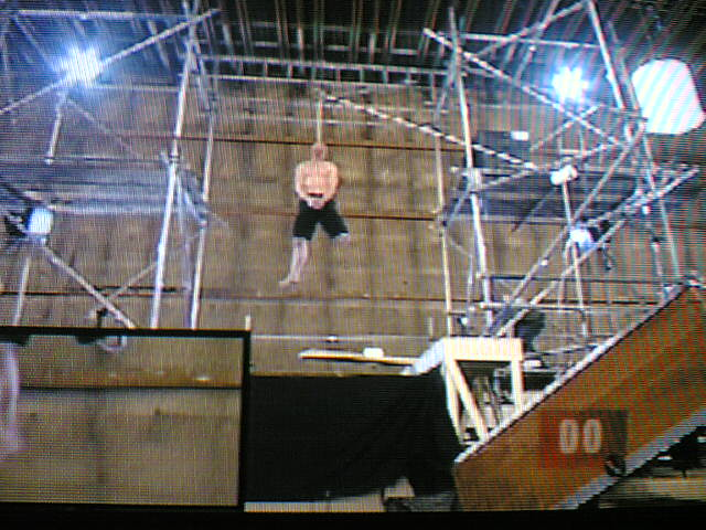 Jonathan Goodwin Being Hung Live On Telly Death Wish