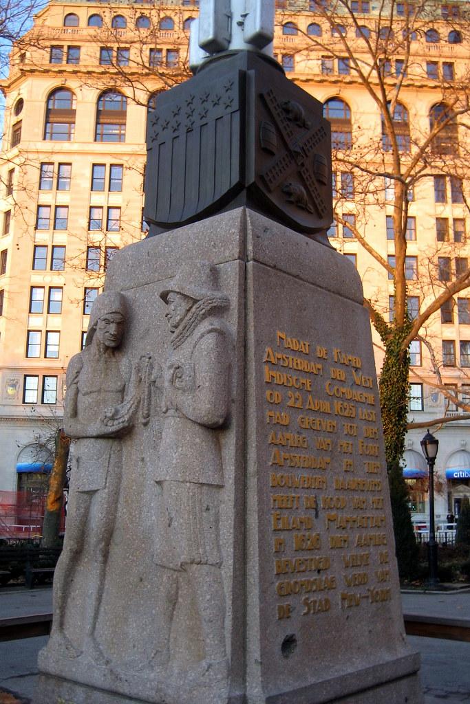 Nyc Battery Park Netherlands Memorial Flagstaff Flickr