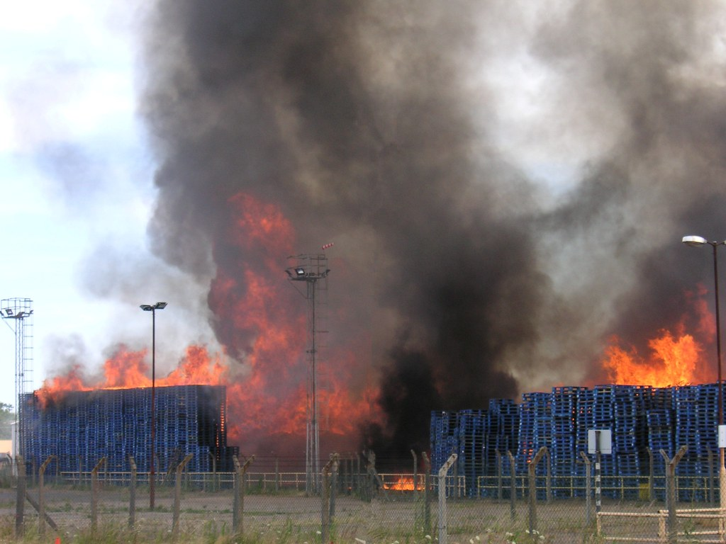 Chep Pallet Fire As A Former Employee And Made Redundant