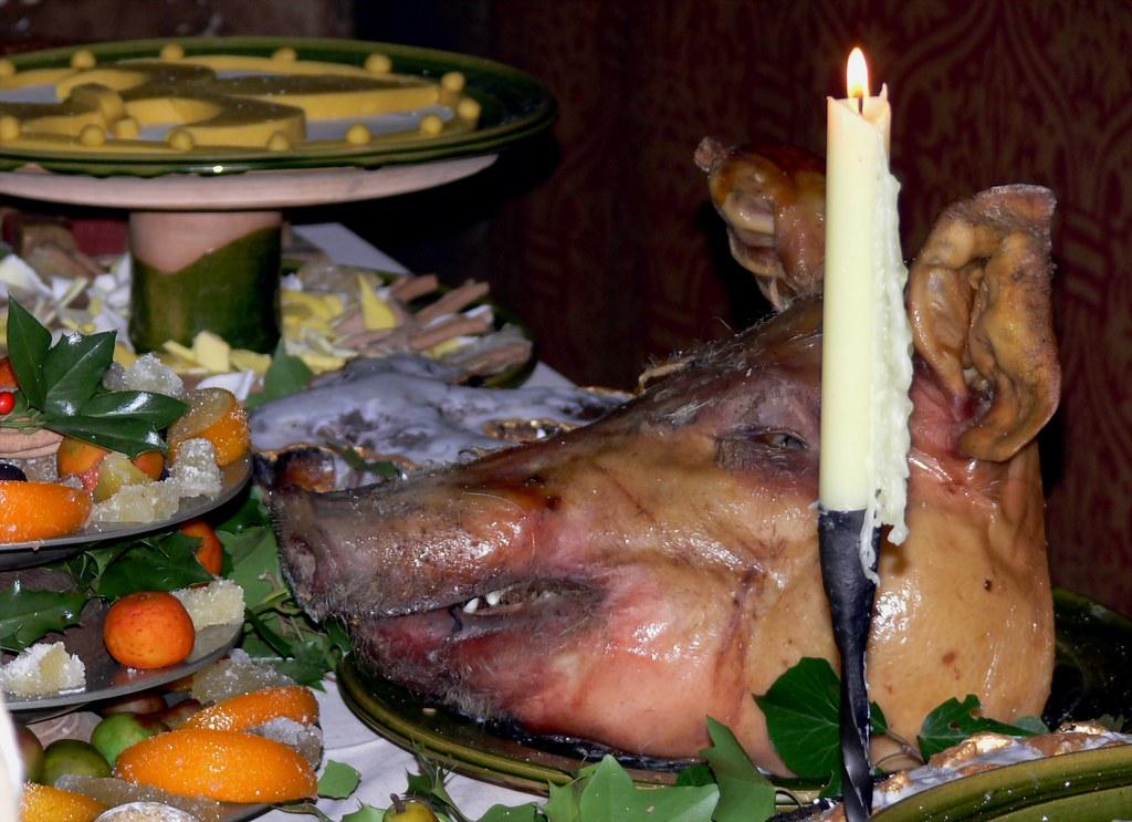 Tudor Christmas Feast Bayleaf Farmstead Weald And