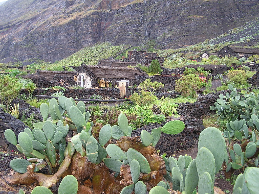 Poblado Guinea Isla de El Hierro