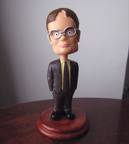 Dwight Schrute Bobblehead I Did Not Become A Lackawanna Co Flickr