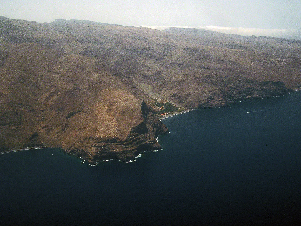 vista aerea de La Gomera 03