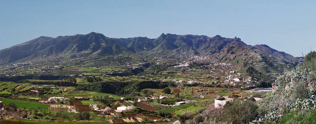 Vista panoramica Tenteniguada Isla de Gran Canaria 16