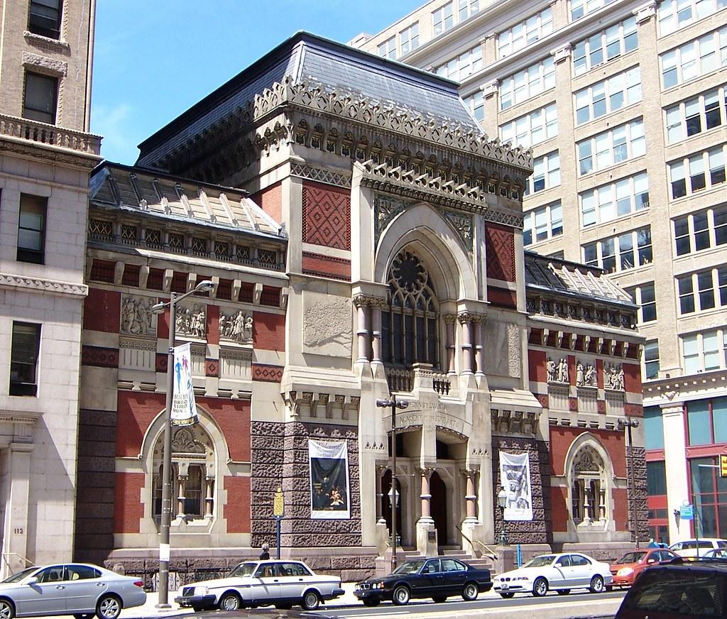 Philadelphia PA Pennsylvania Academy Of The Fine Arts