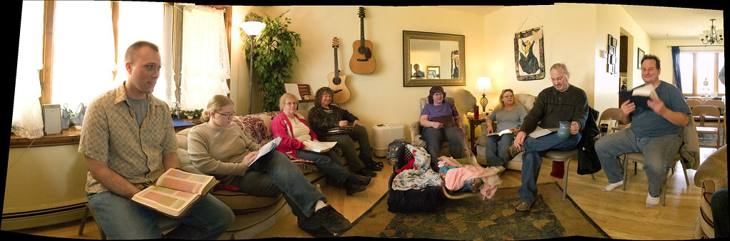 Panaroma Of Our Sunday Group Our Sunday Bible Study