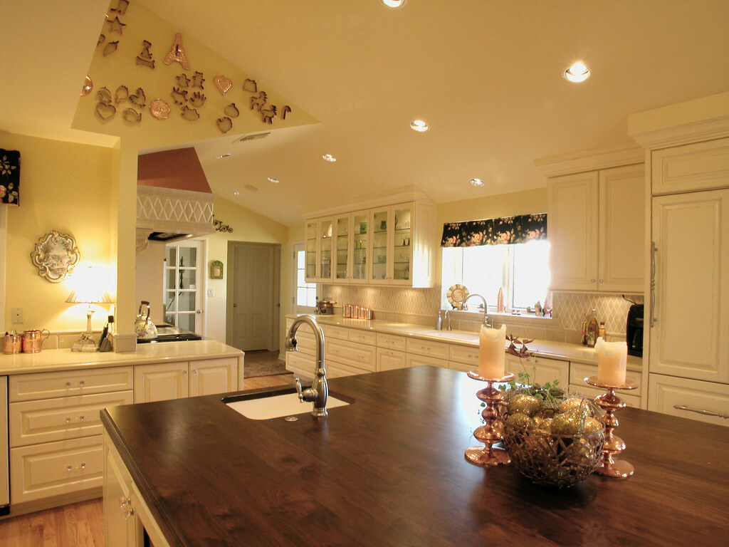 French Country Kitchen Looking At The Kitchen From The