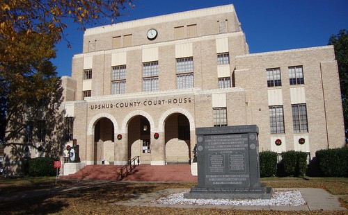 Upshur County Courthouse Gilmer Tx