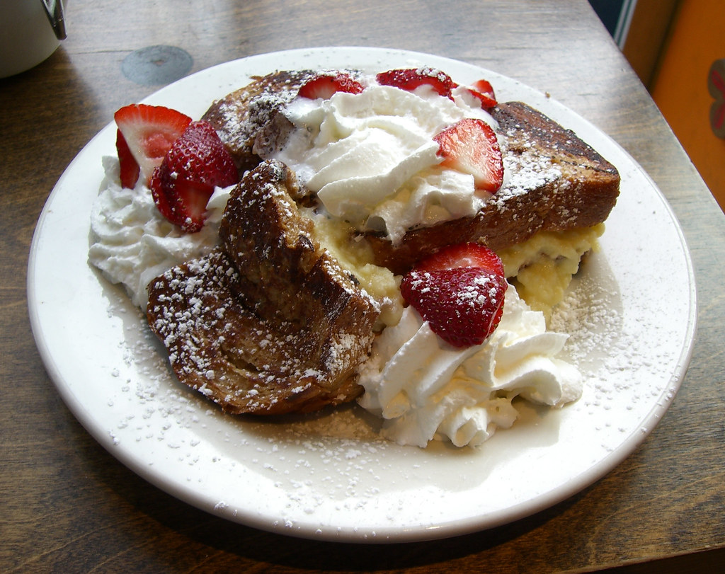 Stuffed French Toast Ear Wax Cafe This Was Really Good