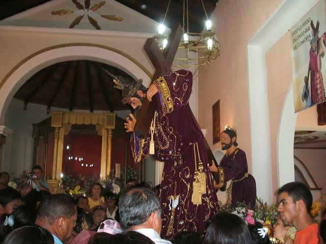 Nazareno de Achaguas en su Santuario.
