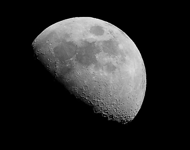 3 4 Moon Taken With My 300 Mm Lens And Hand Held This