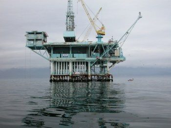 Oil Pipeline Rig California
