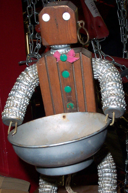 Wooden Robot Now That Is Old School This Is