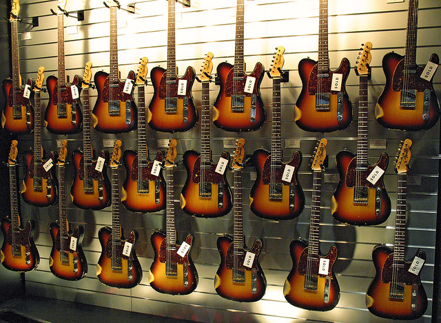 Vintage Telecaster Galore Image Shows Only One Of Two