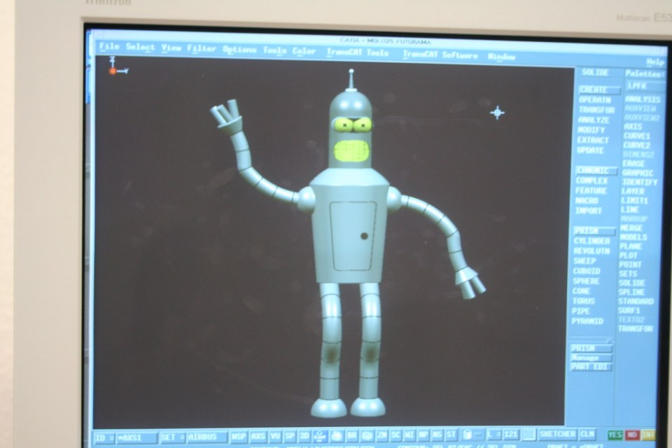 Bender in CATIA V4