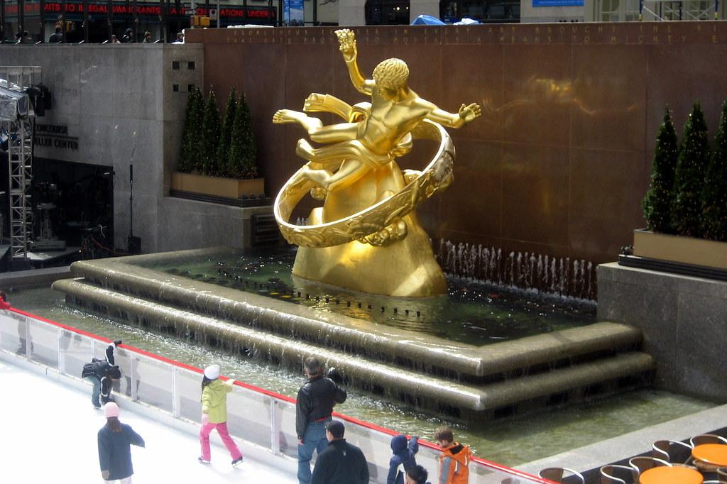 Nyc Rockefeller Center Prometheus Prometheus Is The