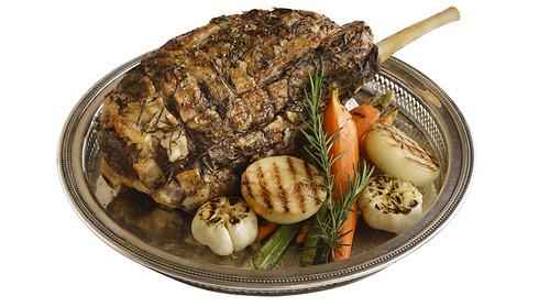 Roast Lamb Leg at Bizu