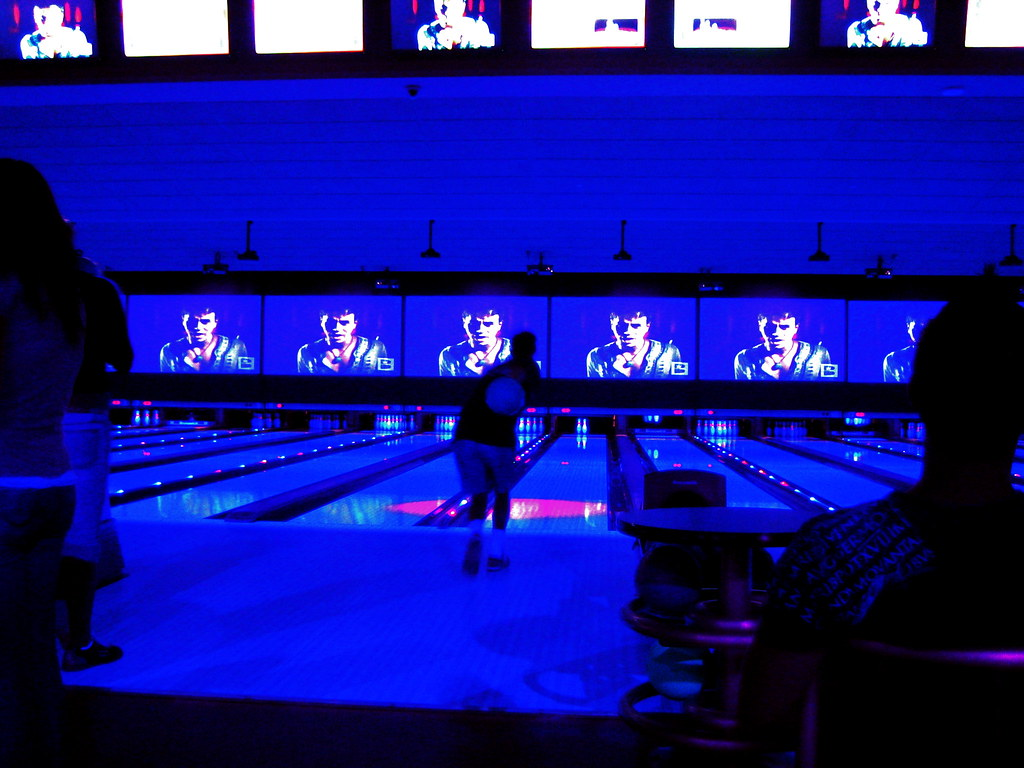 Cosmic Bowling At Red Rock Lanes In Vegas Thats Stephen