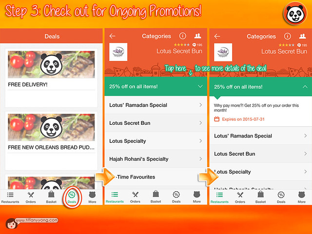 FoodPanda App User Guide 3