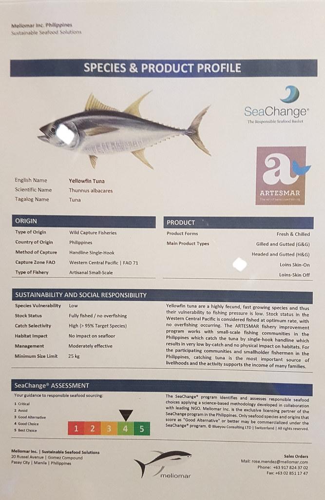 Sustainable Seafood Week 2017