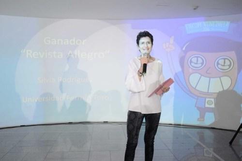 Anna Vaccarella animó la actividad y fue parte del jurado.