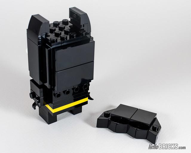 REVIEW LEGO BrickHeadz series 1 The LEGO Batman Movie 41585 Batman