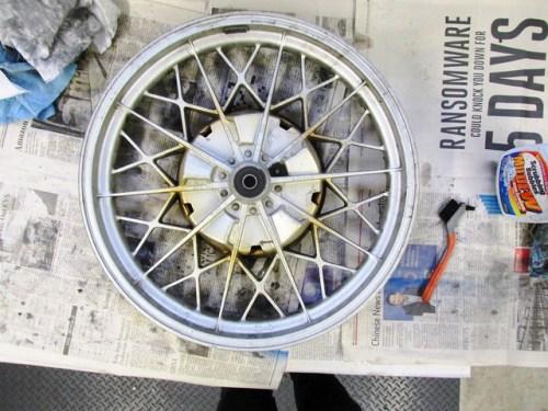 Rear Wheel Left Side