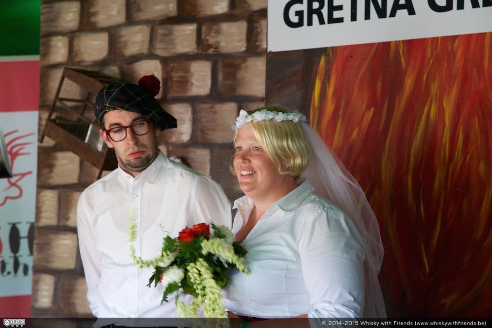 De trouwgeloftes hernieuwen in Gretna Green? Niet iedereen was daar gelukkig mee.