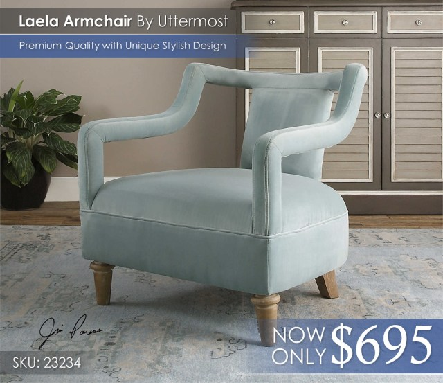 Laela Armchair Uttermost 23234