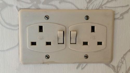 Old plug sockets