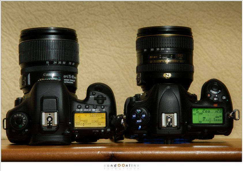 De Canon EOS 7D mark II versus de Nikon D500. Vergelijkbare camera's met vergelijkbare capaciteiten. Maar tegelijkertijd met veel verschillen.