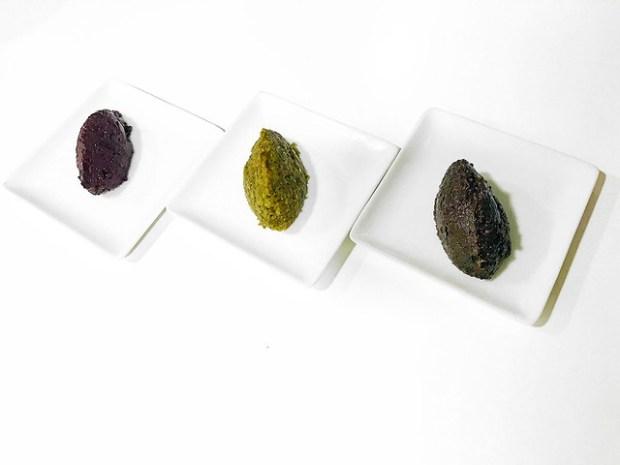 Tapenade, olivada, paté de aceituna, crema de aceitunas. Koketo