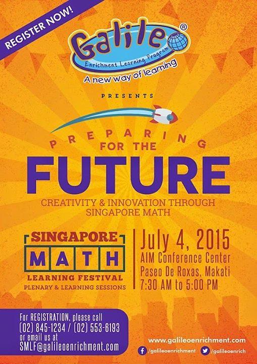 singapore math learning festival 2015