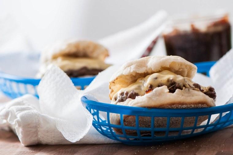 Gouda Burgers with Bacon Onion Jam 5