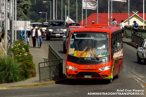 Valdivia - Línea 20 | Transportes Regional | Marcopolo Senior / Volkswagen (FJZZ24)