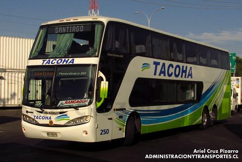 Tacoha - Rancagua - Busscar Panorâmico DD / Scania (BDYG79)