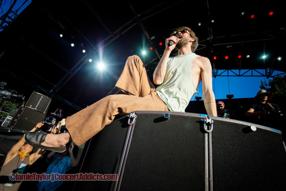 Edward Sharpe and the Magnetic Zeros Performing at Pemberton Music Festival in Pemberton, BC on July 2015