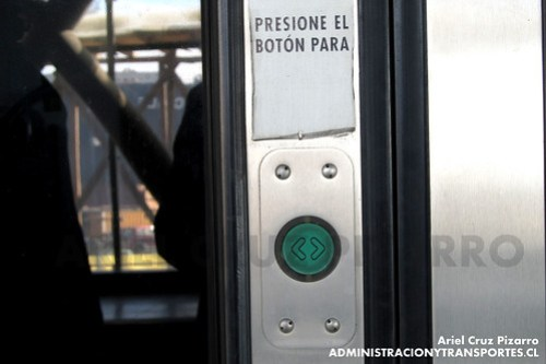 Botón Apertura de Puerta - Alstom Xtrapolis X18
