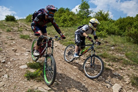 Mountain Biking at Mountain Vodno, Skopje, Republic of Macedonia / June 6th 2015